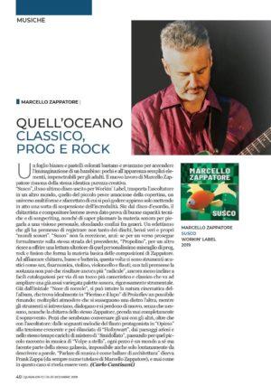 Recensione su QuiSalento: Susco di Marcello Zappatore